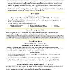 internship resume templates resume templates new internship resume exles sle