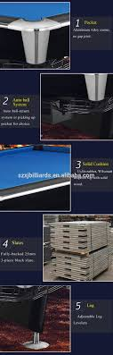 pool table pocket size professional regulation pool table size 9ft with official wpa pool