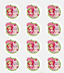 edible cake decorations twelve 2 strawberry shortcake edible cupcake images