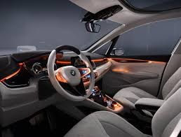 bmw dashboard bmw concept active tourer dashboard illumination eurocar news