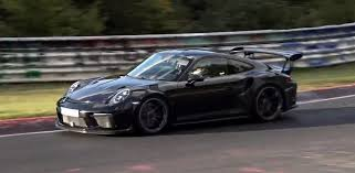 slammed porsche gt3 spies of the nurburgring have captured a special porsche the 911