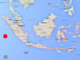 Earthquake World Map by Indonesia Earthquake Where Is Sumatra And Where Have Tsunami