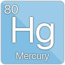 Periodic Table Mercury Atom Celsius Element Mercury Metal Periodic Table