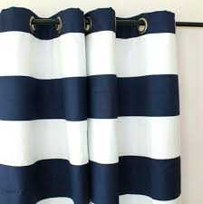 Navy And White Striped Curtains Navy Blue And White Striped Blackout Curtains Navy Striped