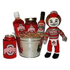 grilling gift basket ohio state tailgate grilling gift basket