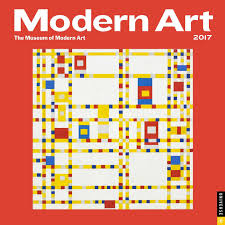 Modern Desk Calendar by Modern Art 2017 Wall Calendar The Museum Of Modern Art