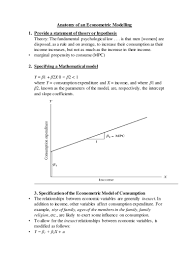 Reconciliation Accounting Resume Anatomy Of An Econometric Modelling 1