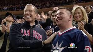 new york rangers fans york rangers fans break out in applause for military vet