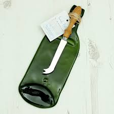 wine bottle cheese plate recycled glass wine bottle cheese plate by hill green