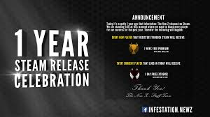 1 year steam release celebration announcements fredaikis ab