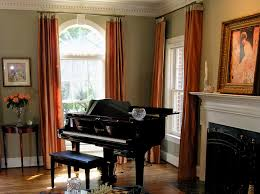 modern window treatments for bay windows home intuitive curtain