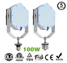 led parking lot lights vs metal halide 100w 14 400lm led retrofit kits for 350w metal halide fixtures