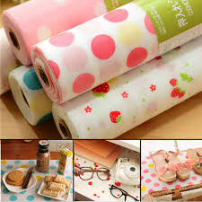 cabinet and drawer liners 300x30cm polka dots shelf contact paper cabinet drawer liner kitchen