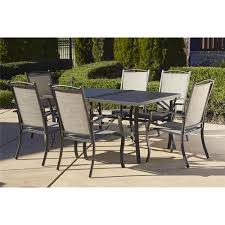 Aluminum Patio Dining Set Cosco Outdoor 7 Serene Ridge Aluminum Patio Dining Set