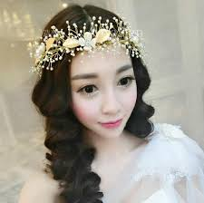 bridal hair comb wedding hair jewelry crystal hair piece pearls