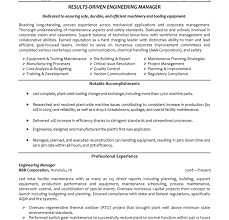 Manufacturing Engineering Manager Resume Download Certified Process Design Engineer Sample Resume