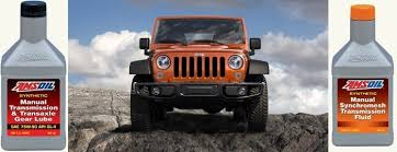 jeep wrangler manual transmission fluid amsoil manual transmission fluids amsoil synthetic manual