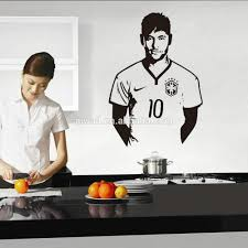 9410 art wall stickers neymar diy home decorations wall decals