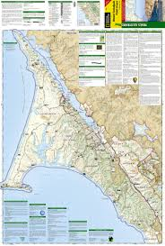 Marin Headlands Map Mount Tamalpais Point Reyes National Geographic Trails