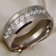 wedding bands for with diamonds mens wedding band ebay