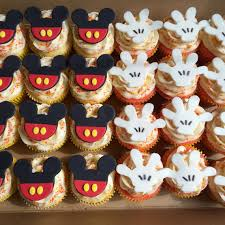 mickey mouse cupcakes 12 fondant mickey mouse cupcake toppers mickey mouse cupcakes