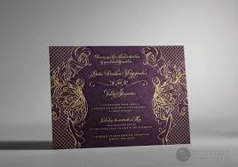 regalia wedding invitations