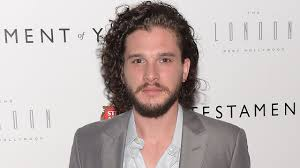 kit harington nearly unrecognizable after shaving his beard and