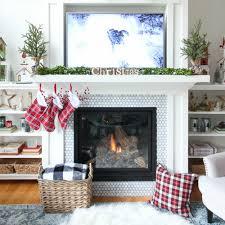 christmas mantel decor classic white christmas mantel decor the happy housie