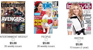 black friday magazine subscriptions magazine music u0026 books archives living chic on the cheap