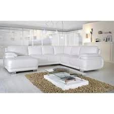 canape d angle blanc pas cher canapé d angle convertible en u vosda v blanc angle droit achat