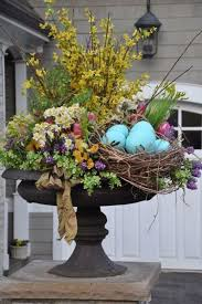 outdoor easter decorations easter decor garden 40 interesting garden ideas for festive