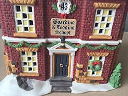 department 56 dickens department 56 boarding lodging school dickens