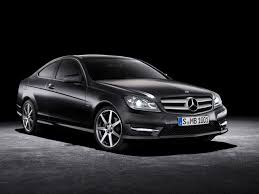 Mercedes C Class Coupe 2008 2012 Mercedes Benz C Class Information And Photos Zombiedrive