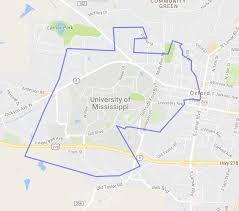Mississippi State University Campus Map by Mapped How Big Is The Louisiana State University Campus