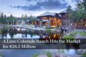 Seeking Ranch Wyoming Ranch Seeking 53 Million Finds A Buyer Mansion Global