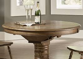 carolina crossing antique honey oval pedestal extendable dining