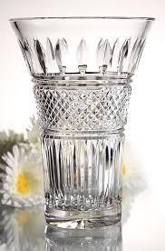 Vintage Waterford Irish Crystal Lismore Bowl By Birneycreek Waterford Irish Lace Flared 6in Vase Carved Lead Crystal