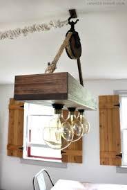 Farm Style Light Fixtures Build A Rustic Farmhouse Style Hanging Light Fixture No