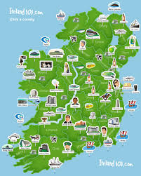 Holiday World Map by Ireland 101 Map Of Ireland Super Simplistic But Easy To Use At
