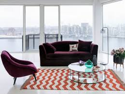 canape salon aménager salon un canapé coloré pour un décor stylé salons
