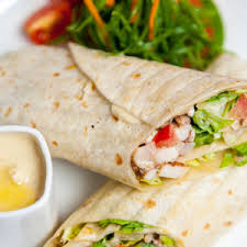 arabic wrap spicy chicken arabic flatbread wrap t lounge by dilmah dubai