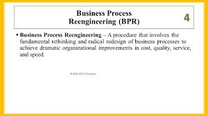 Business Process Reengineering Job Description Chapter 4 Business Processes 1 Define Process Ppt Download