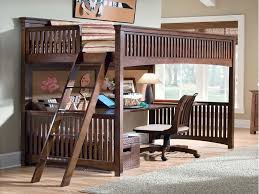glamorous full bunk bed with desk underneath 2525