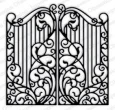impression obsession rubber sts wrought iron fence