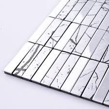 Kitchen Wall Backsplash Panels by Wholesale Metallic Mosaic Tile Aluminum Panel Wall Stickers Strip