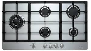 Gas Stainless Steel Cooktop Euromaid 90cm Gas Cooktop Stainless Steel Cooktops