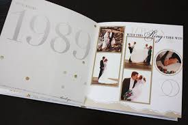 wedding photo albums for parents wedding anniversary gifts 25th wedding anniversary gift for my