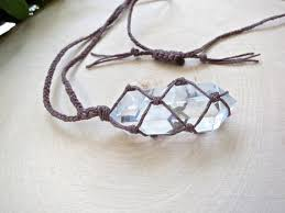 crystal jewellery necklace images 31 best crystal macrame wrapping images macrame jpg