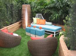 small outdoor spaces landscaping colorful seating in a welcoming outdoor space small