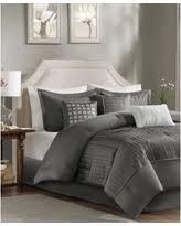 Grey California King Comforter Amazing Holiday Deals Madison Park Bedding Sets